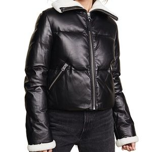 Mackage Cammi Moto Jacket XS Black